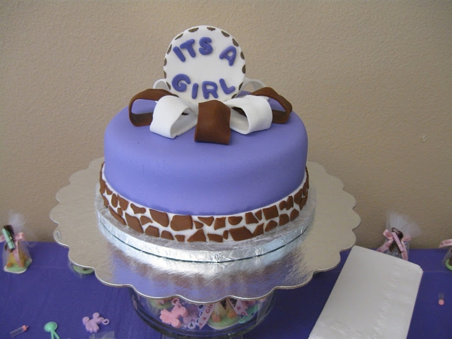 Safari Theme Baby Shower Cake  on Cake Central