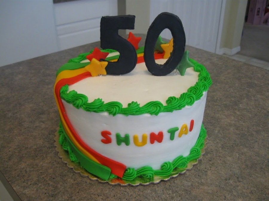 Jamaican Theme Cake on Cake Central
