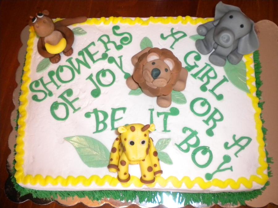 Safari Baby Shower Cake Sayings