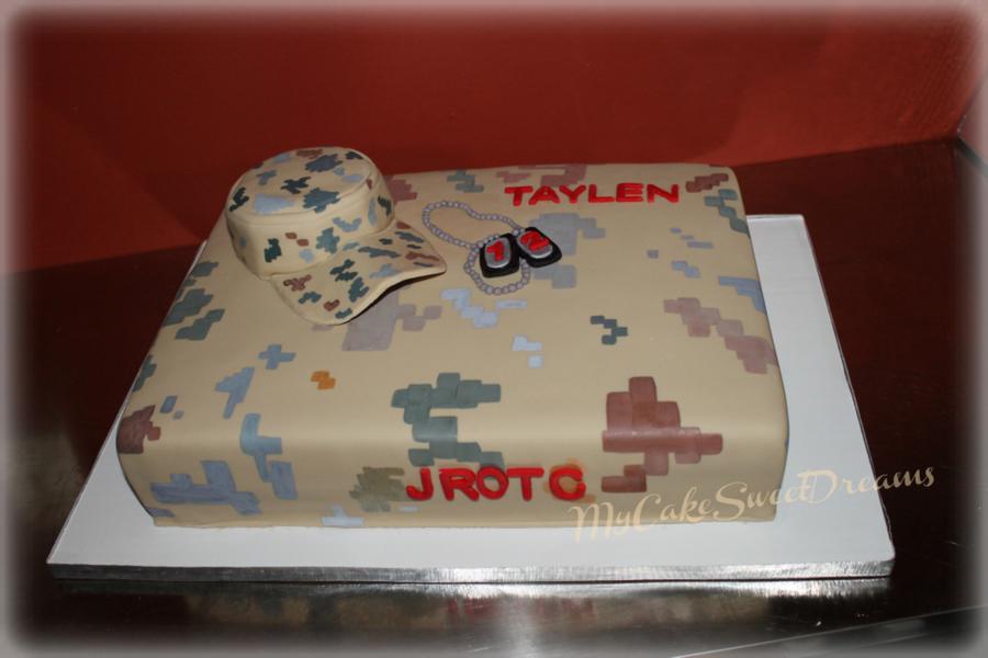 Usarmy Jrotc Birthday Cake CakeCentralcom