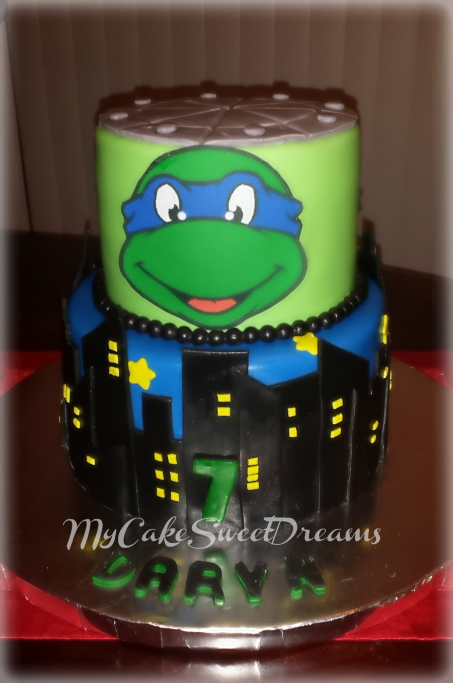 Teenage Mutant Ninja Turtles Leonardo Cake Cakecentral Com