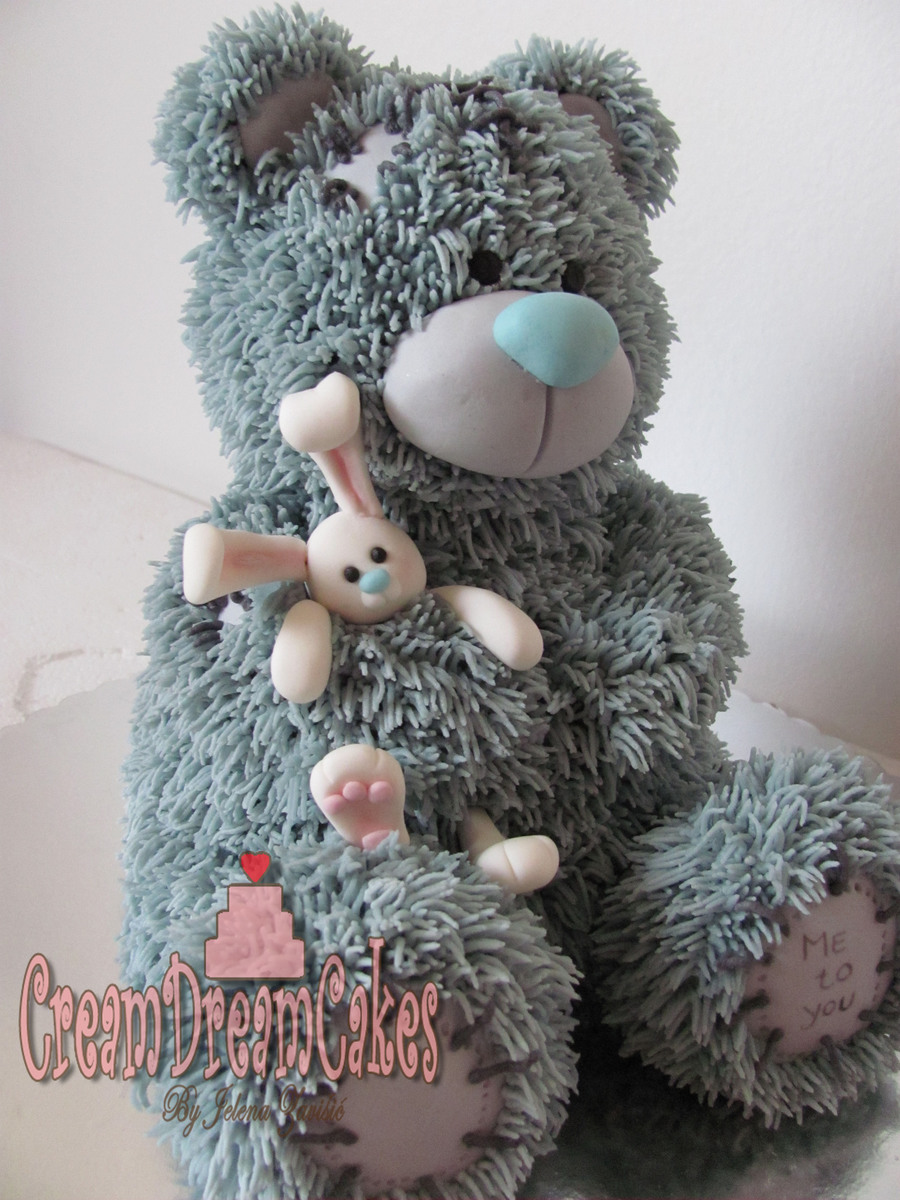 Tatty Teddy Bear Cake Cakecentral Com