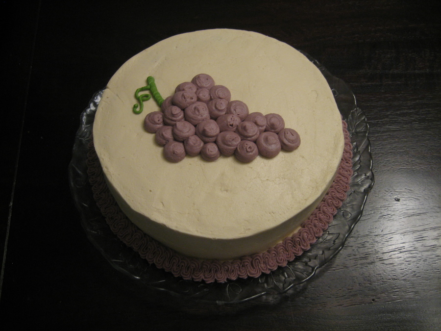 Grapes Cake on Cake Central