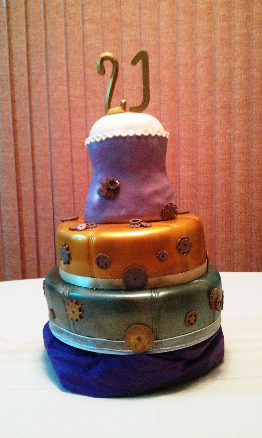 21st Birthday Cake Cakecentral Com