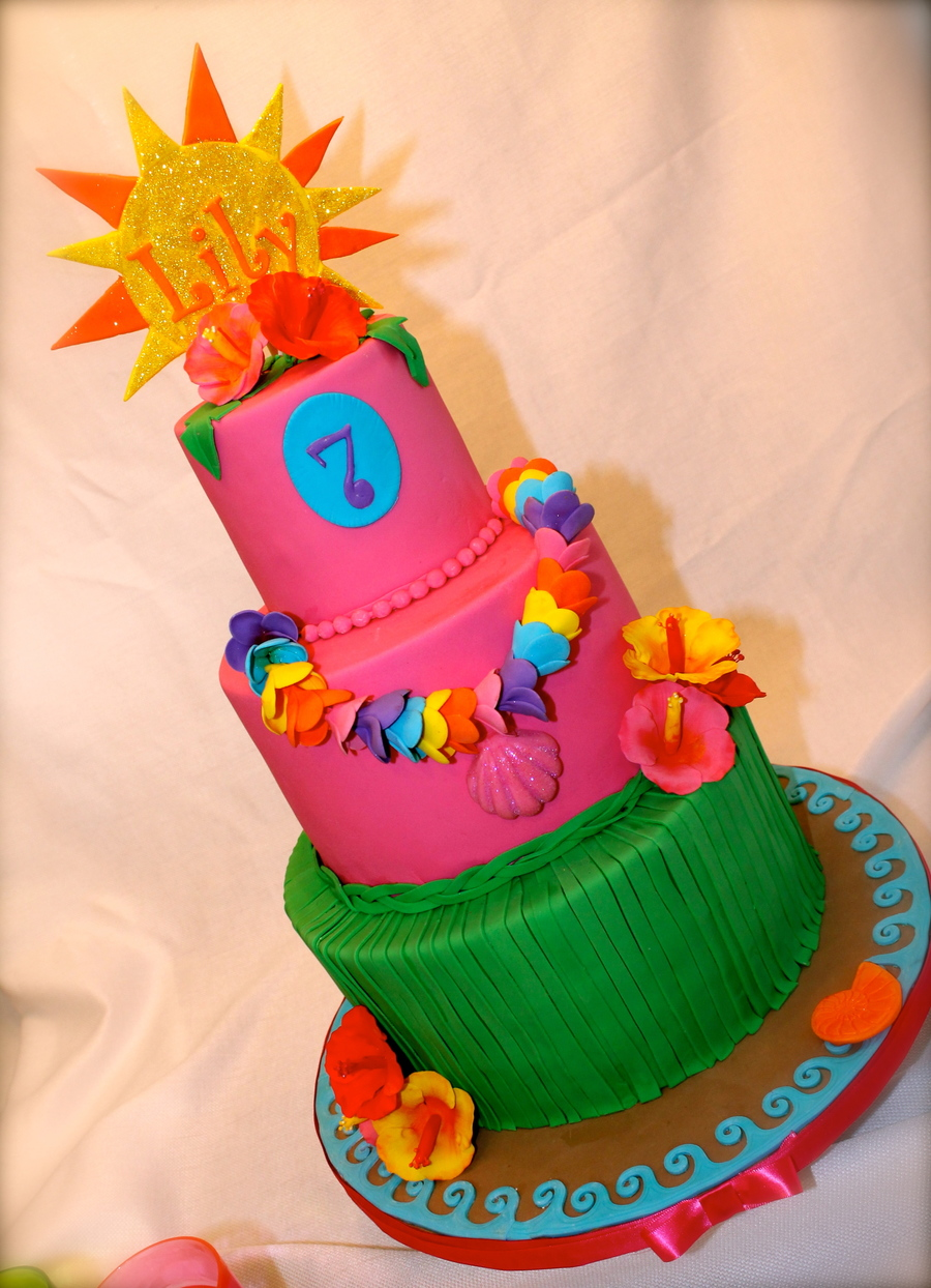 Luau For Lily Cakecentral