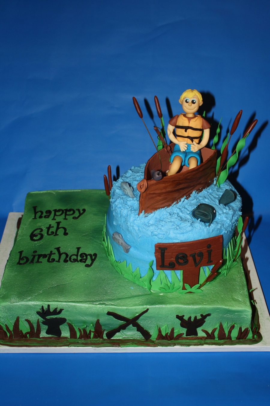 Fishing And Hunting on Cake Central