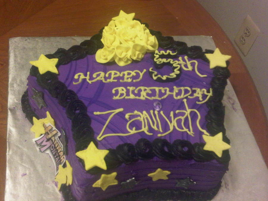Star Shaped Birthday Cake on Cake Central