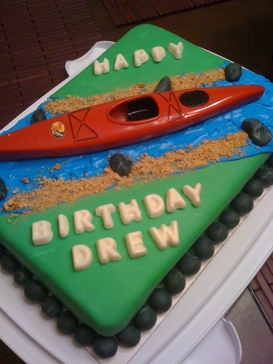 Kayak Cake on Cake Central