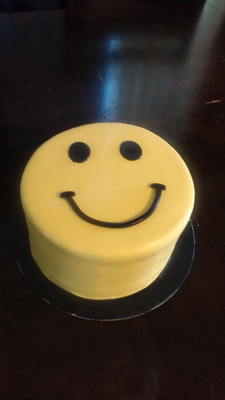Smiley Face on Cake Central