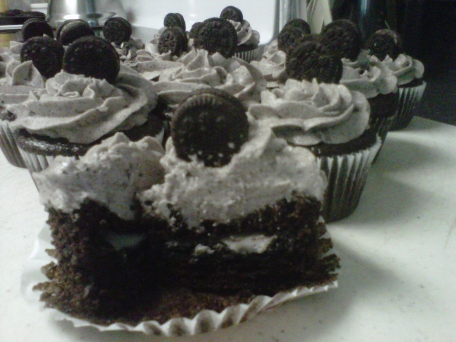 Oreo Cupcakes on Cake Central