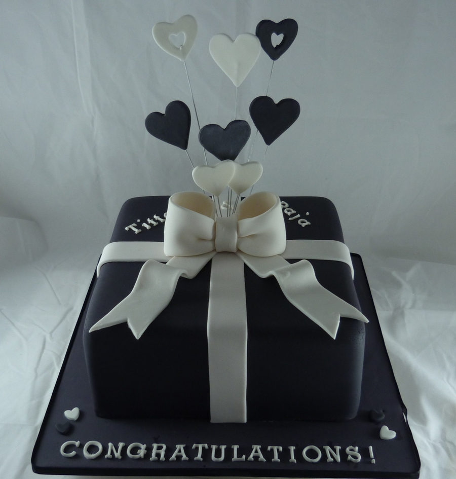 Engagment Cake on Cake Central