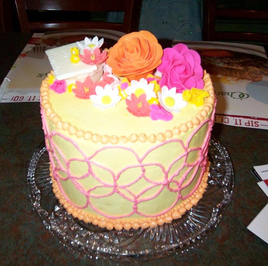 Chocolate And Mandarin Cake