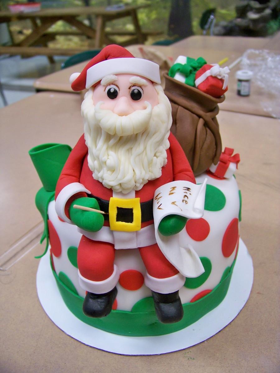 Santa Claus Cake Cakecentral Com