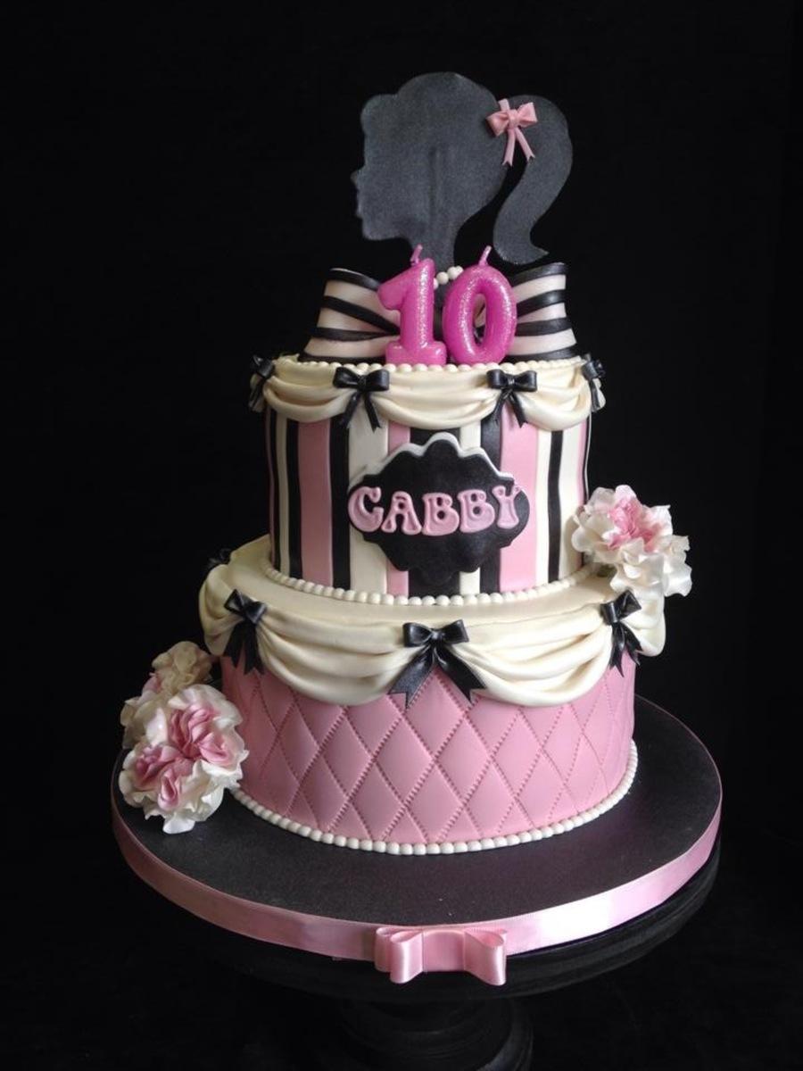 Vintage Barbie Cake Cakecentral Com