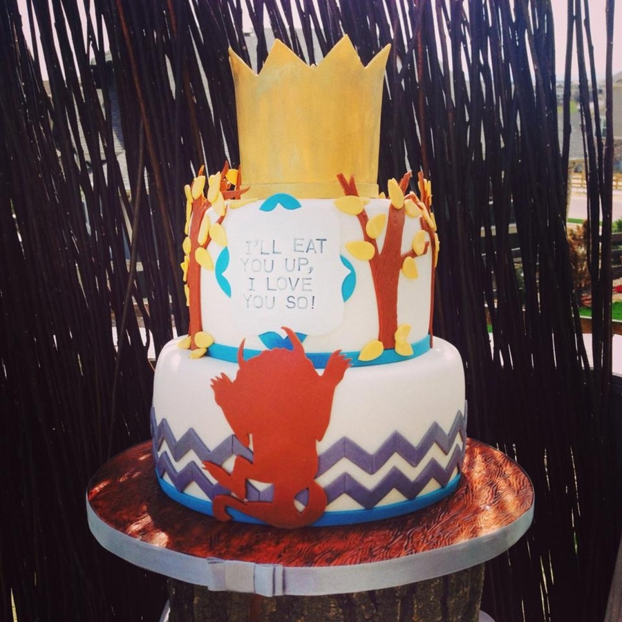 Where The Wild Things Are Baby Shower Cake Cakecentral Com