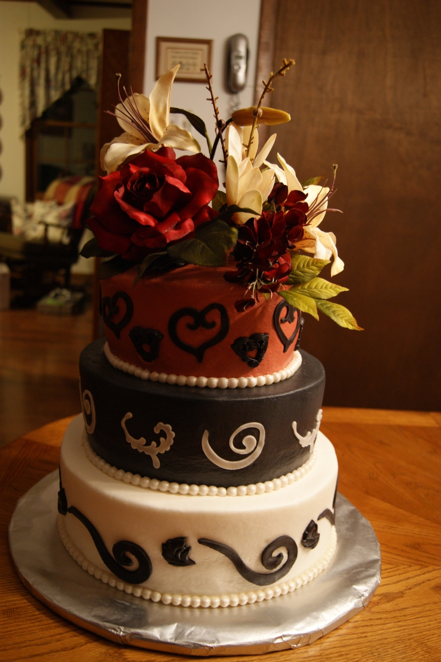 Wedding Amp Grooms Cake Combo Cakecentral Com