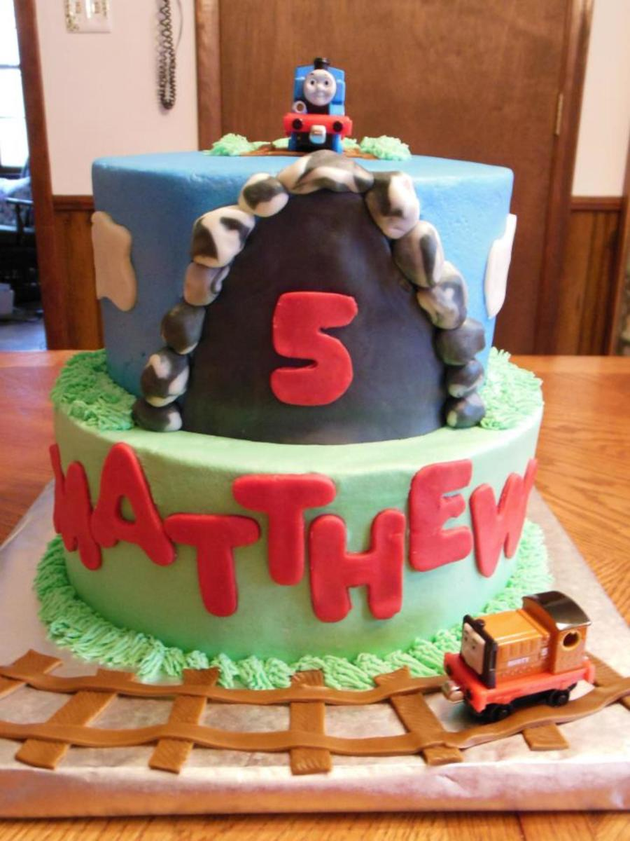 Thomas And Friends Cake For Matthew on Cake Central