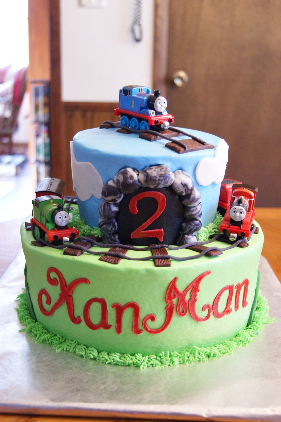 Thomas Amp Friends Cake For Xander Quot Xanman Quot Cakecentral Com