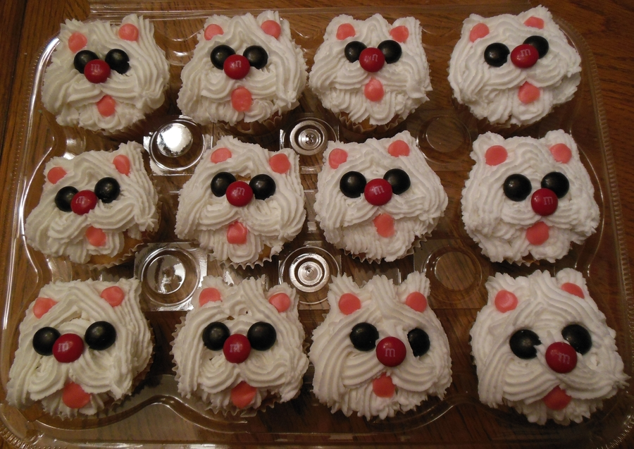 Make Puppy Dog Cupcakes