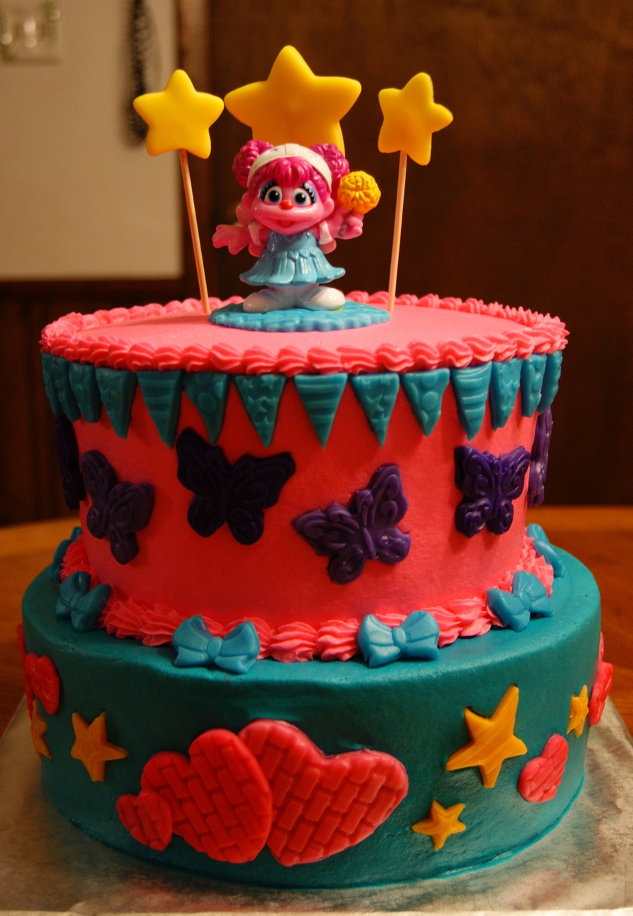 Abby Cadabby Cake on Cake Central