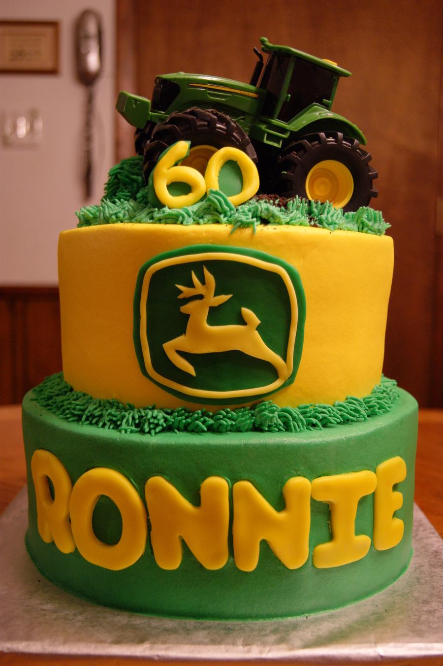 John Deere Birthday Cake Ideas