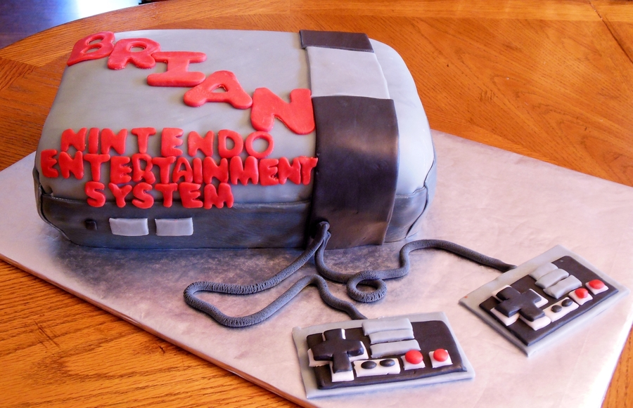 Old School Nes on Cake Central