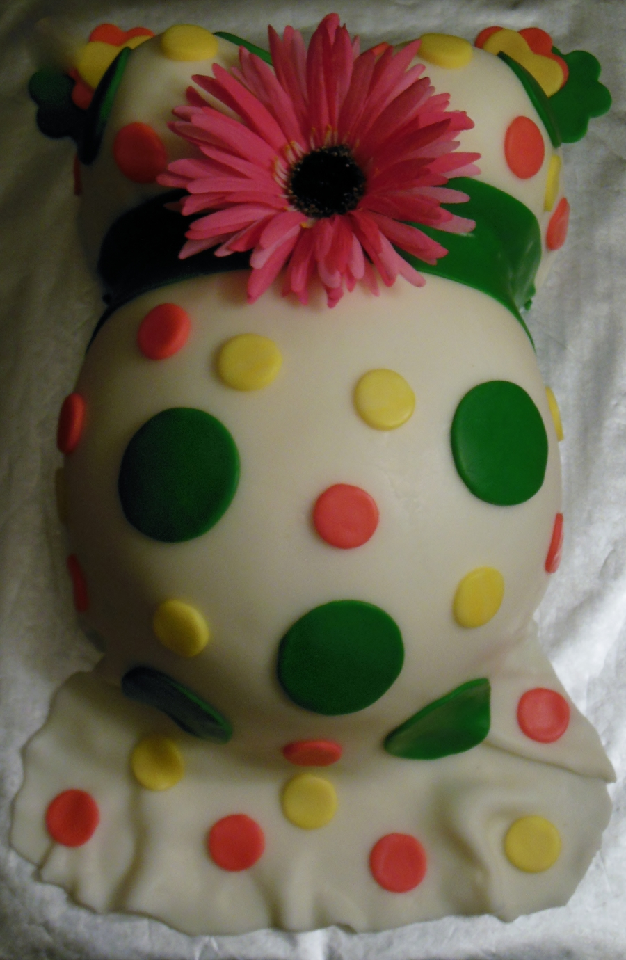 Baby Belly Cake on Cake Central