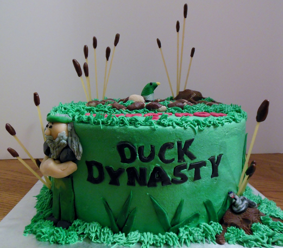 Duck Dynasty For Johnathons 9Th Birthday on Cake Central
