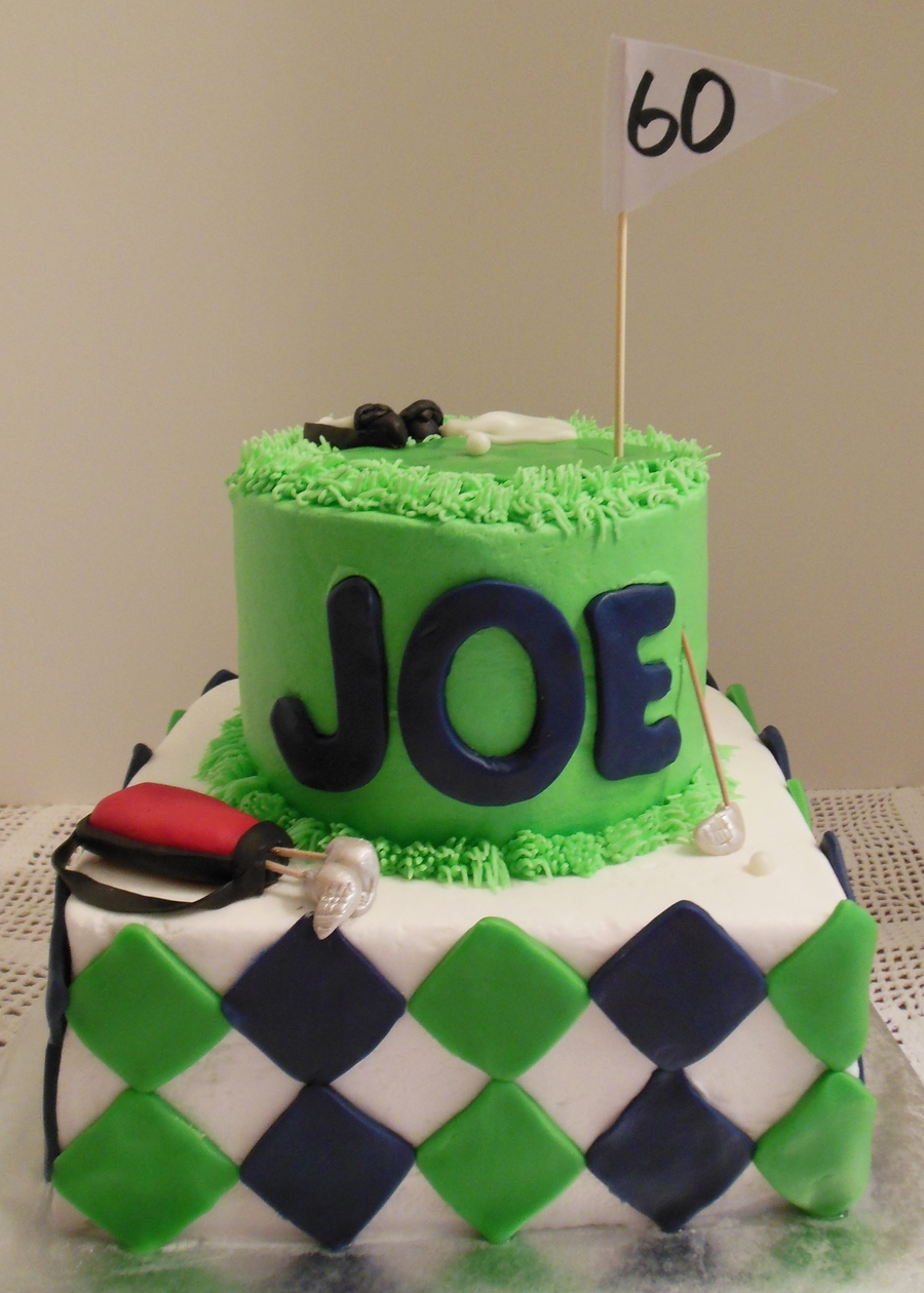 Golf Cake For Joes 60Th on Cake Central