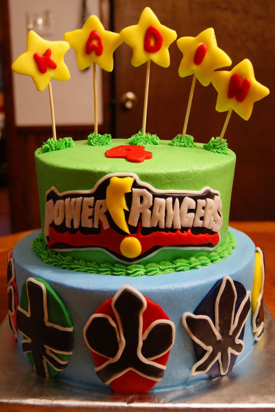Power Rangers Samurai on Cake Central