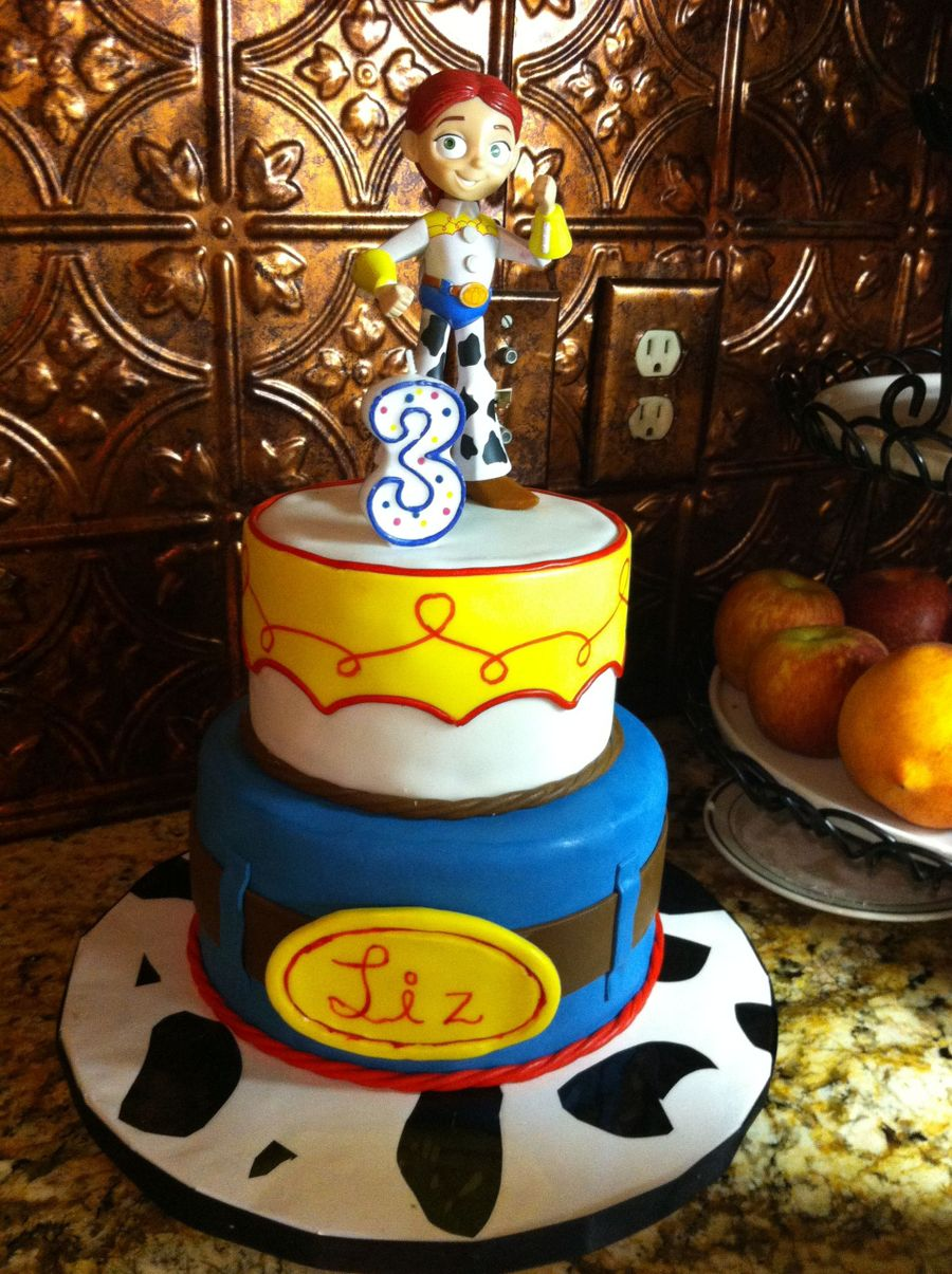 Jessie Birthday Cake on Cake Central