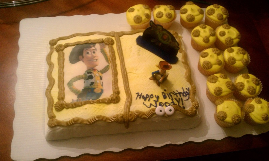 Woody - Toy Story on Cake Central