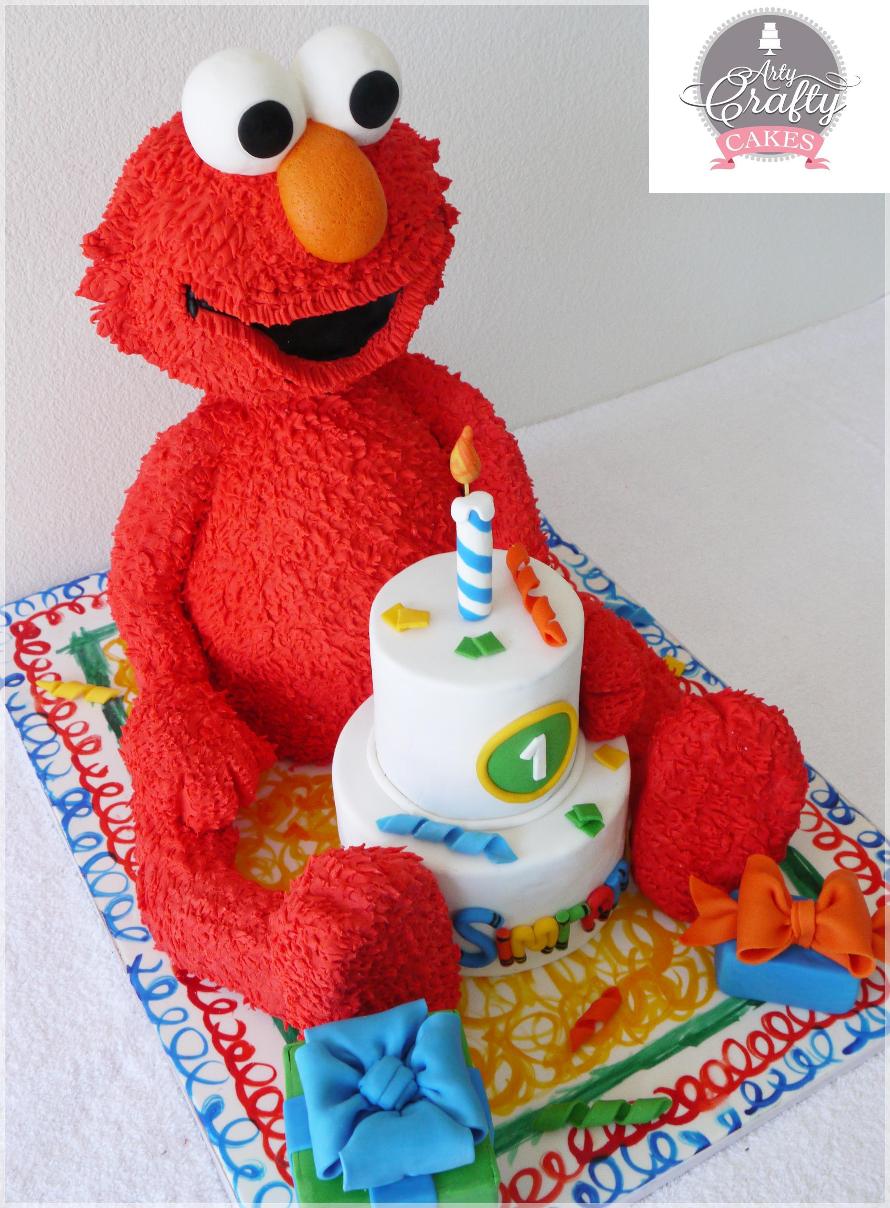 3d Elmo Cakecentral Com