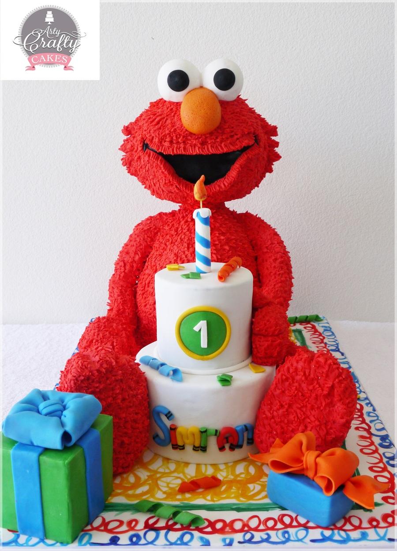 How To Make A Elmo Cake D