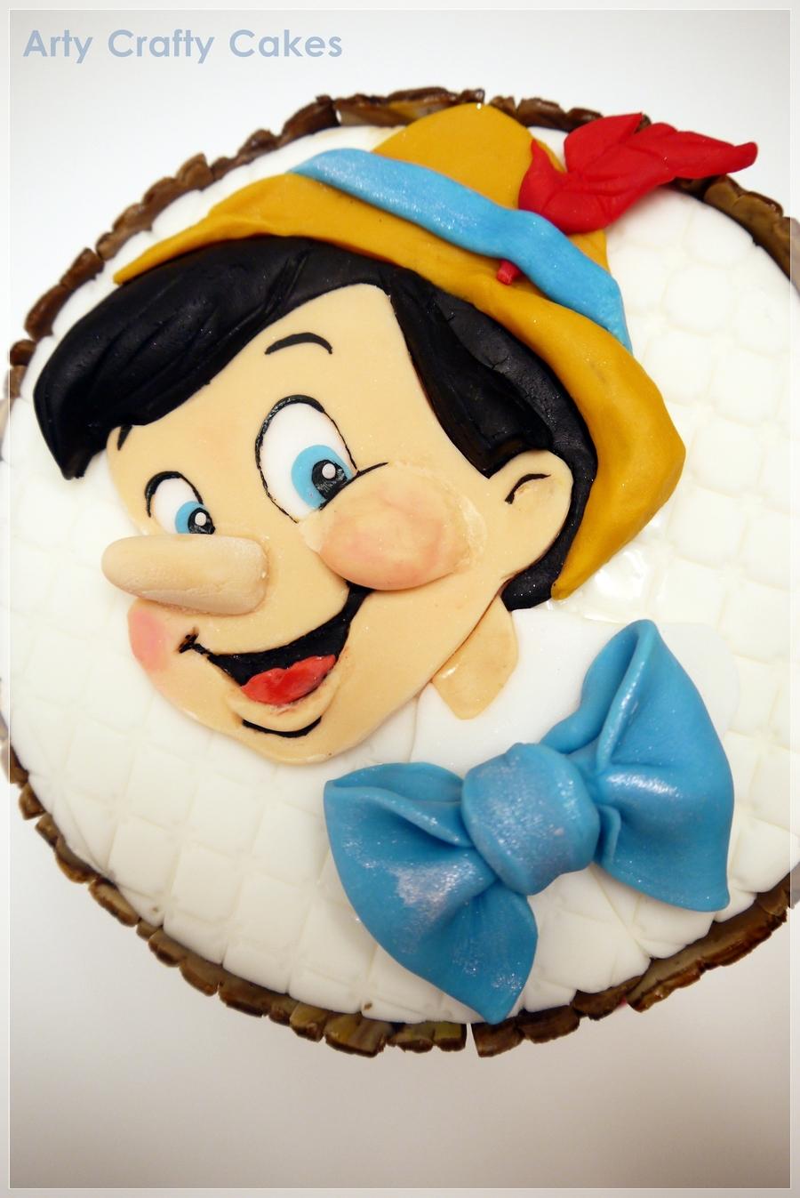 Pinocchio Cake - CakeCentral.com