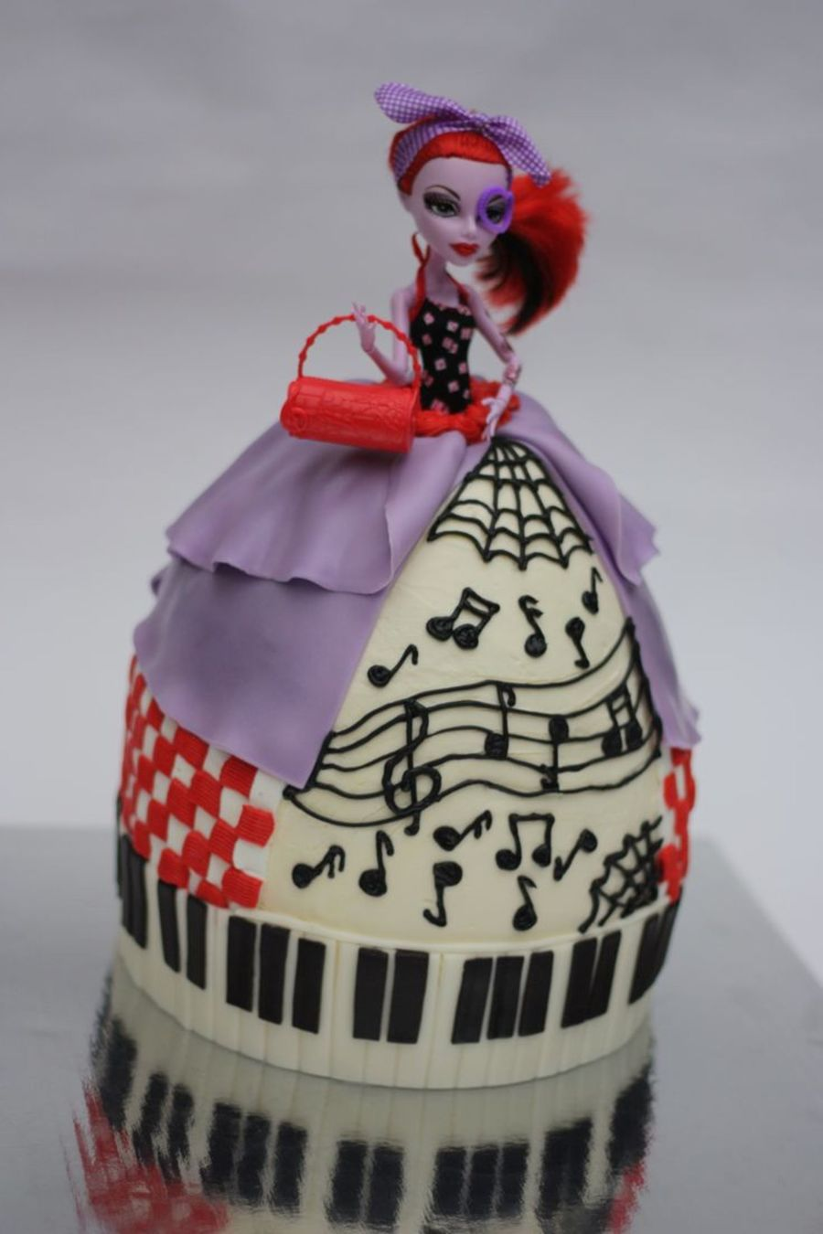 Monster High Doll Cake Cakecentral Com