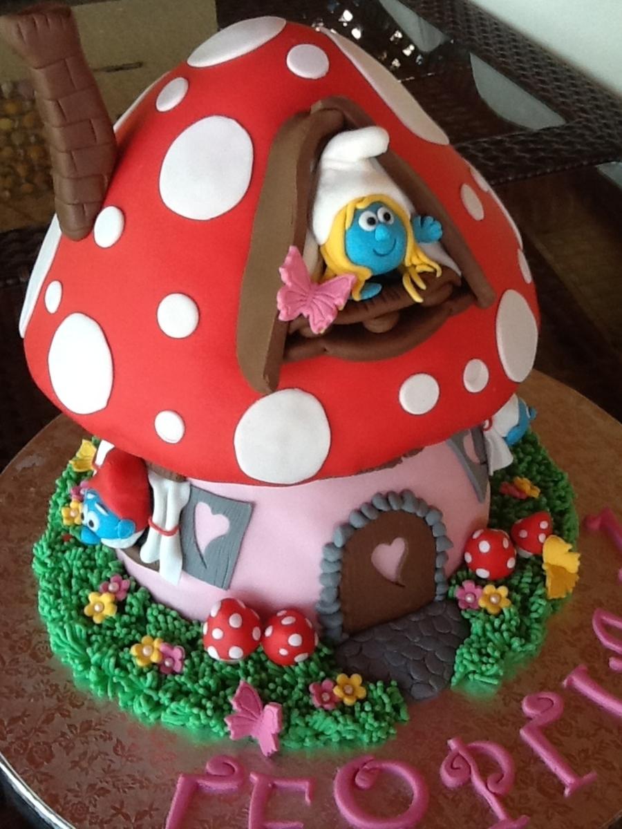 Smurfs House Cakecentral Com