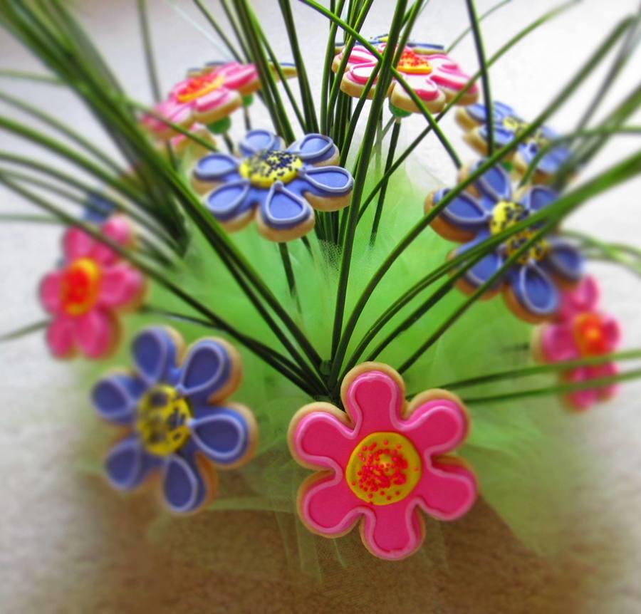 Flower Basket Mothers Day Cake : Mothers day flower basket cakecentral