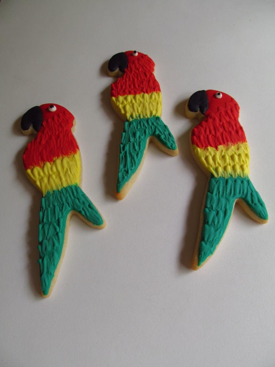 Parrots on Cake Central