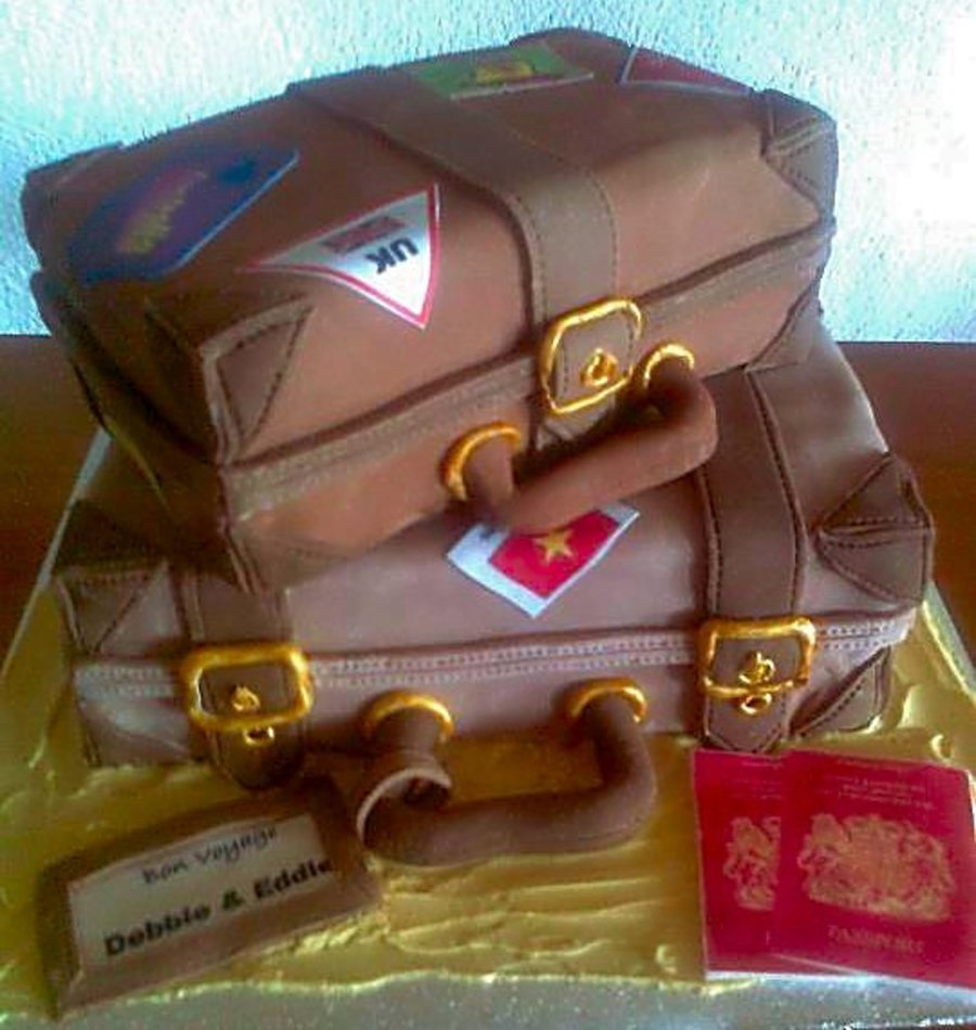 Travelling The World Cake on Cake Central