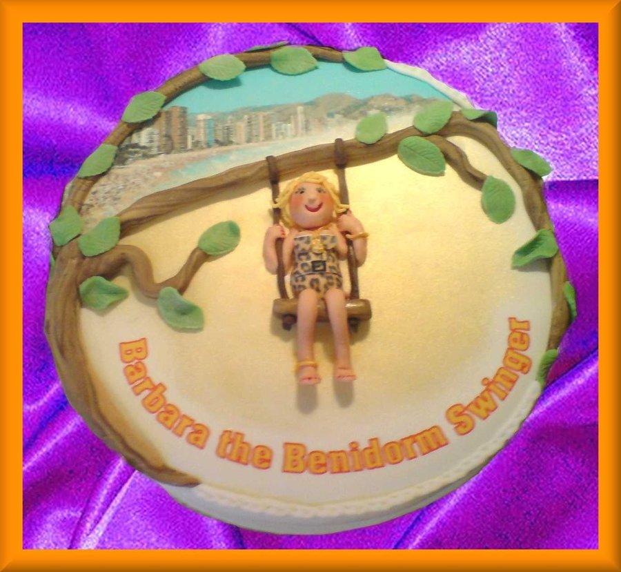 Barbara The Benidorm Swinger CakeCentralcom - Birthday cake barbara