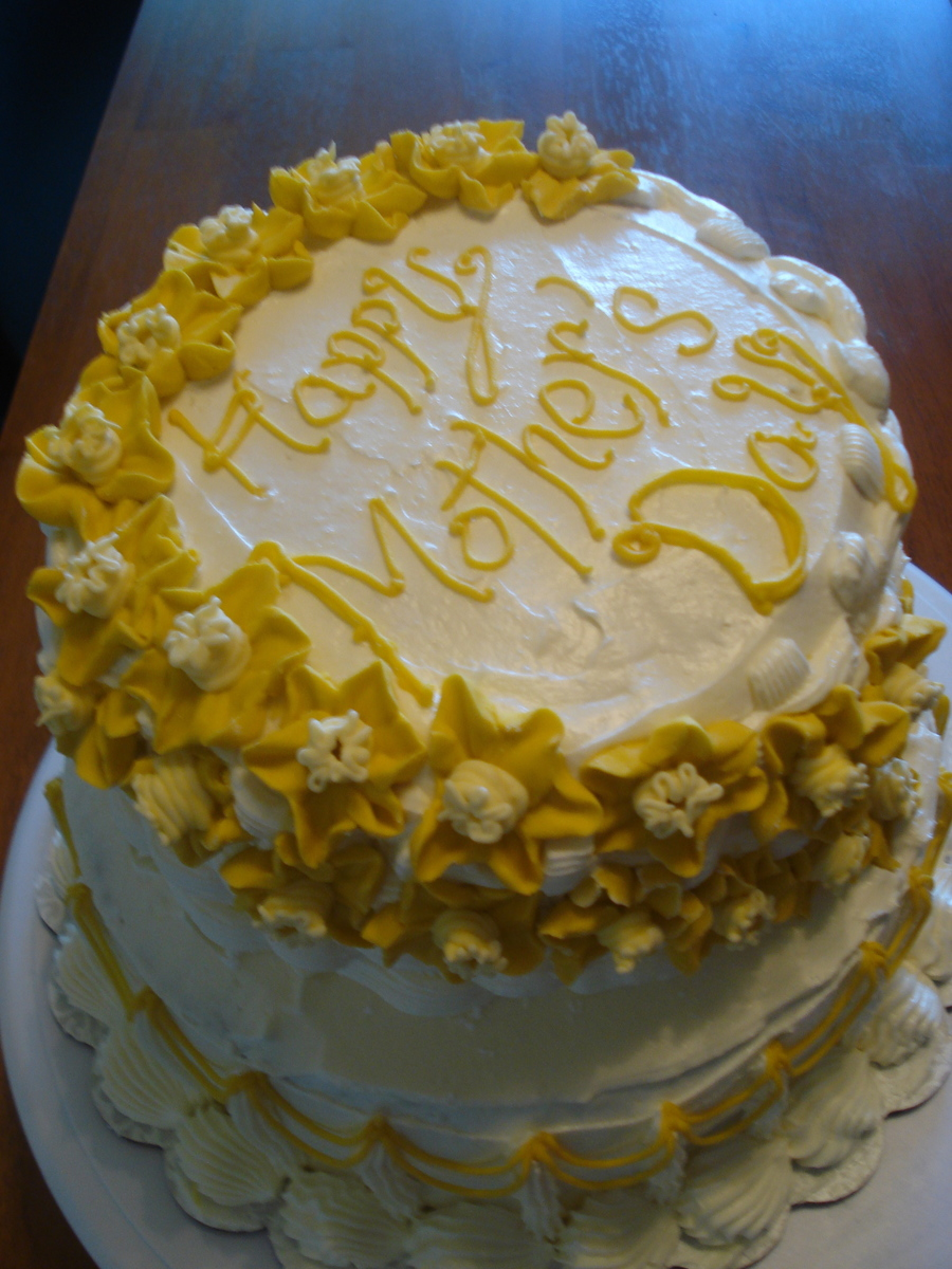 Mother\'s Day Cake - CakeCentral.com
