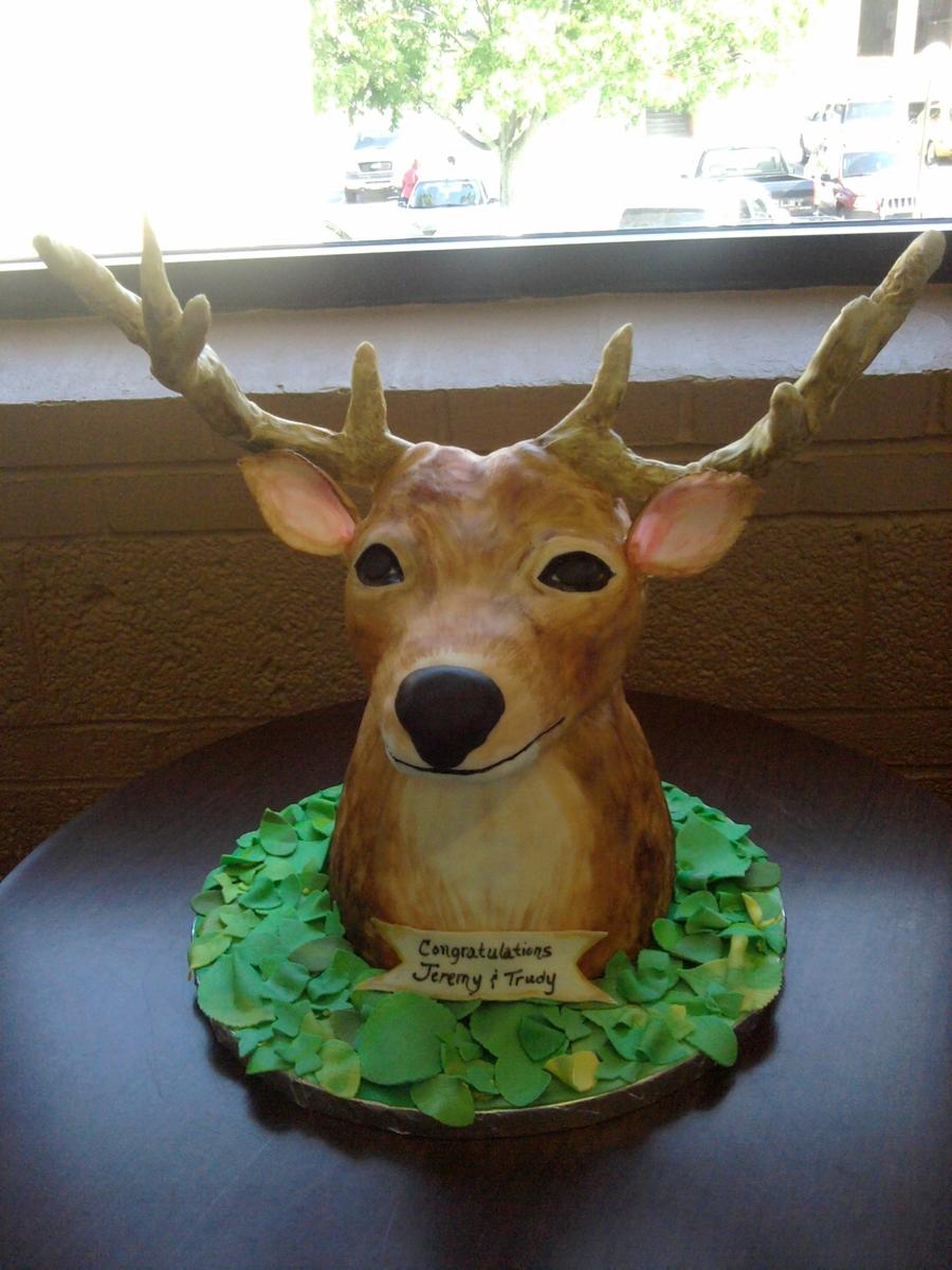 Deer Head Cake Cakecentral Com