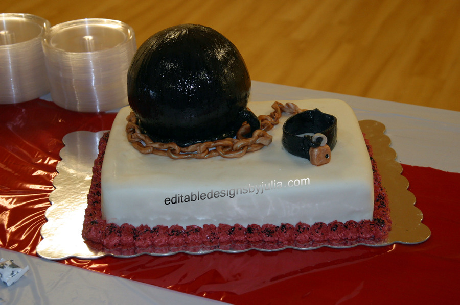 Ball-N-Chain  on Cake Central