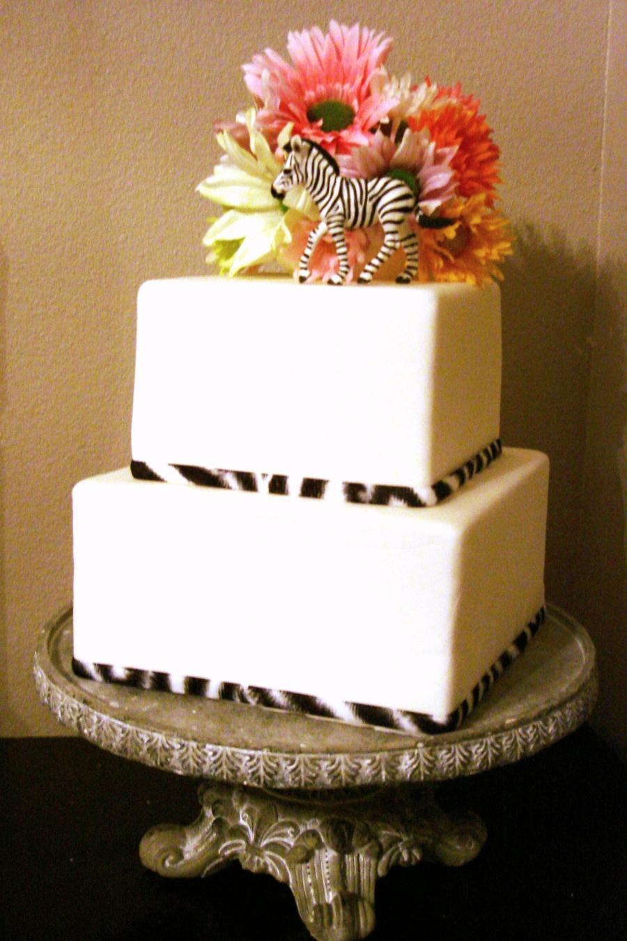 Zebra Layer Cake