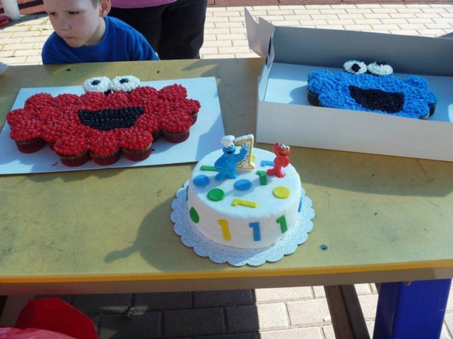 Cookie Monster Smash Cake Recipe