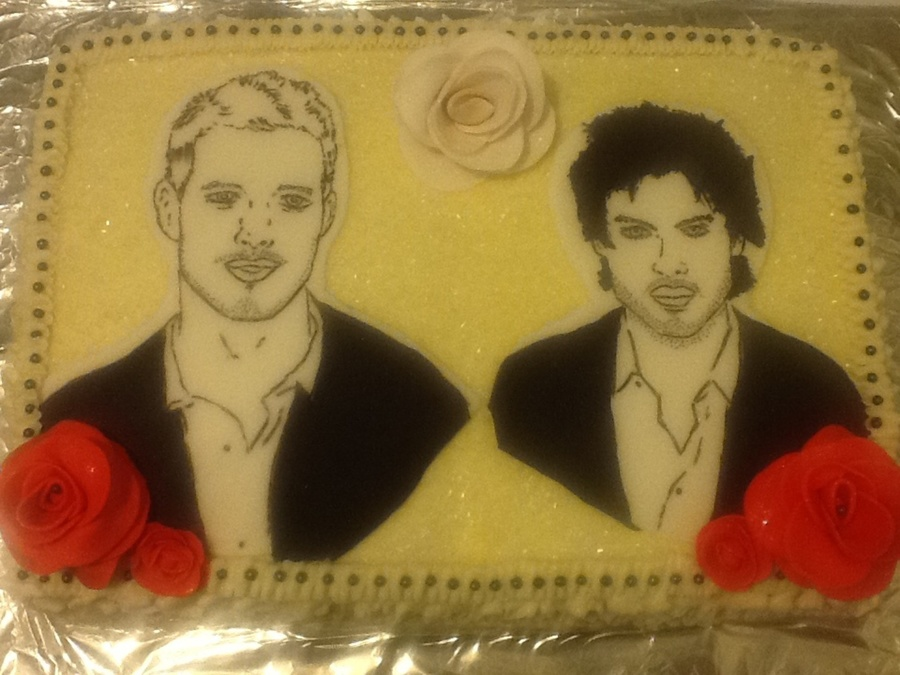 William Levy And Ian Somerhalder Cake on Cake Central