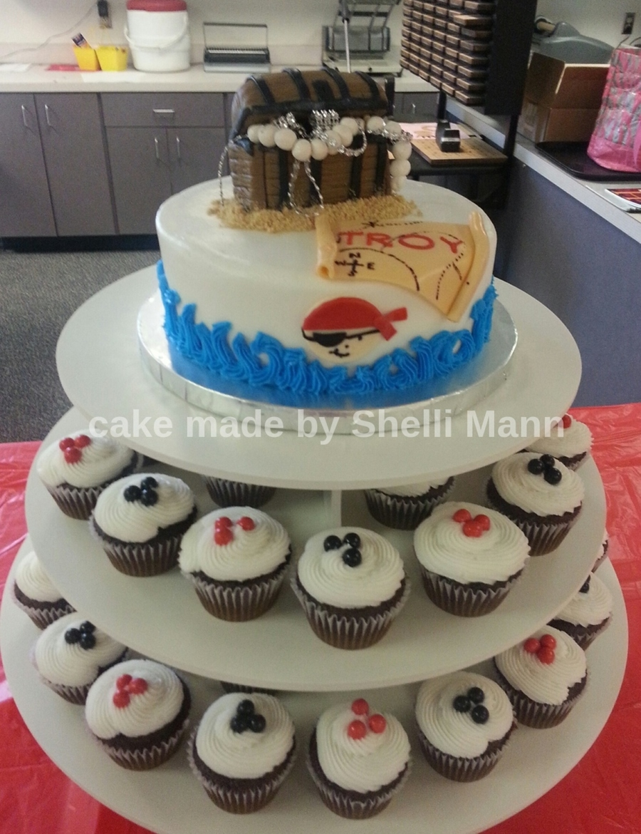 Pirate Baby Shower Cake Cakecentral