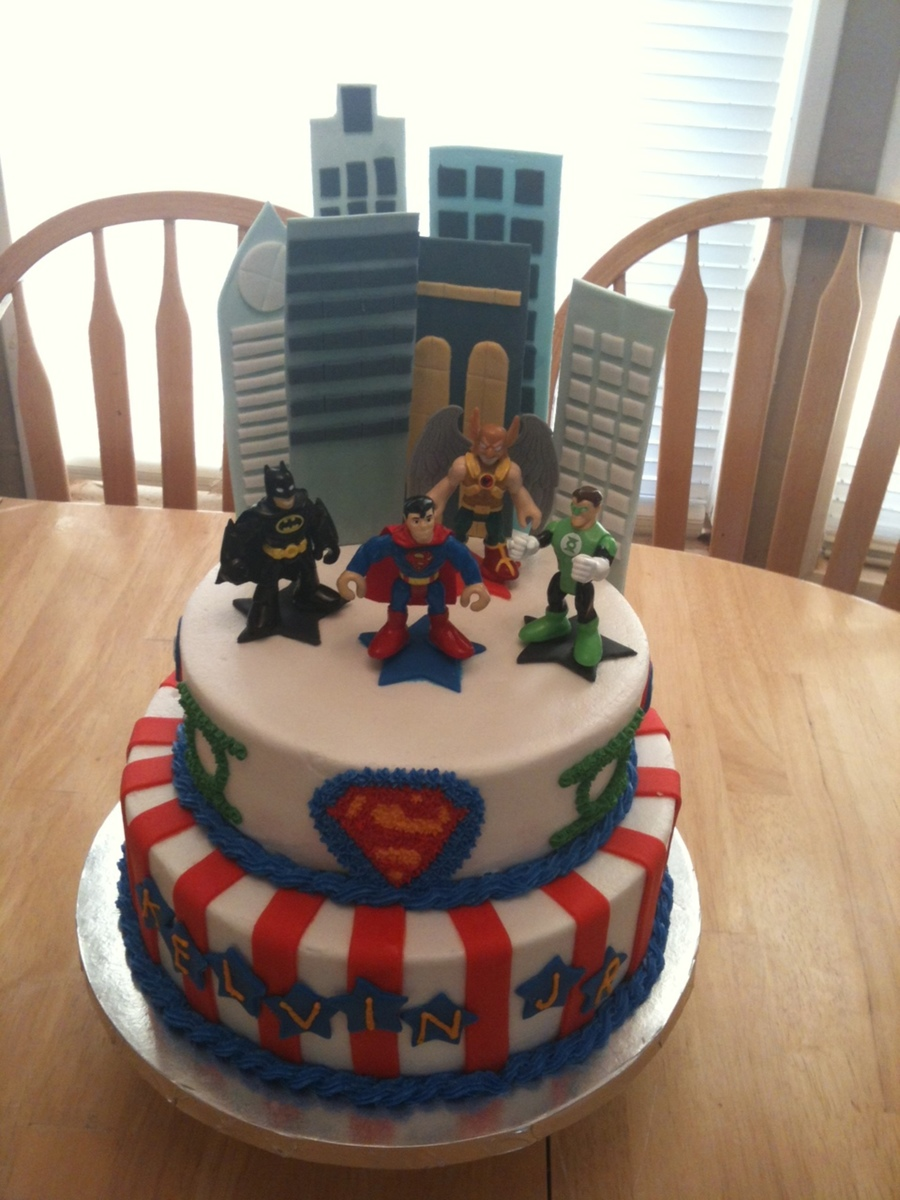 Justice League Cake on Cake Central