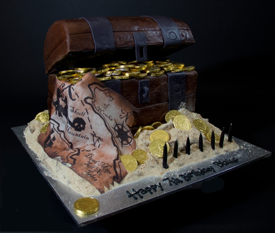 Pirate Treasure Chest on Cake Central